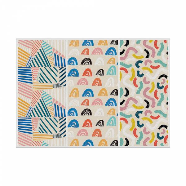 Placemat Colourful Shapes 1