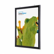 Double-Sided LED Magnetic Poster Frame (50x70)