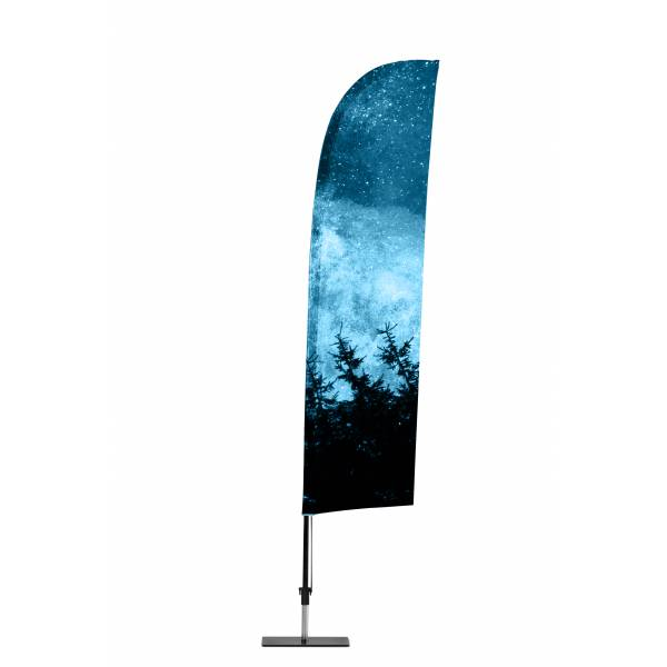 Promotional Flag Wind incl. Print