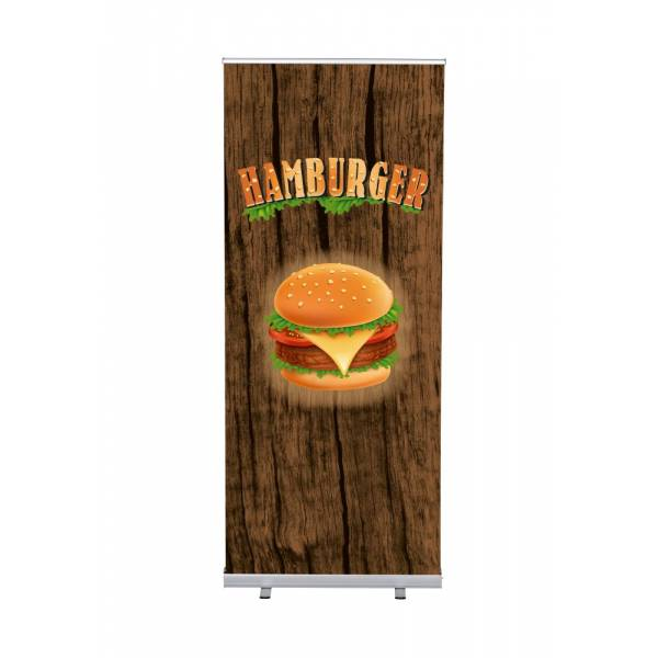 Roll-Banner Budget 85 Complete Set Hamburger