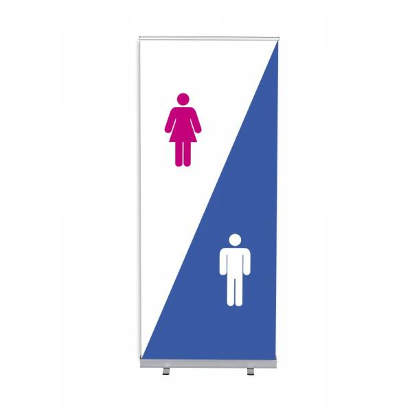 Roll-Banner Budget 85 Complete Set Hygiene Facilities