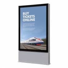 Outdoor Premium Poster Case 1185x1750 Double sided LED