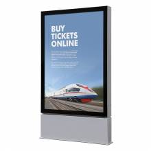 LED Outdoor Premium Poster Case Freestanding