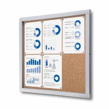 Indoor/Outdoor Lockable Noticeboard