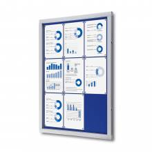 Lockable Noticeboard with Safety Corners