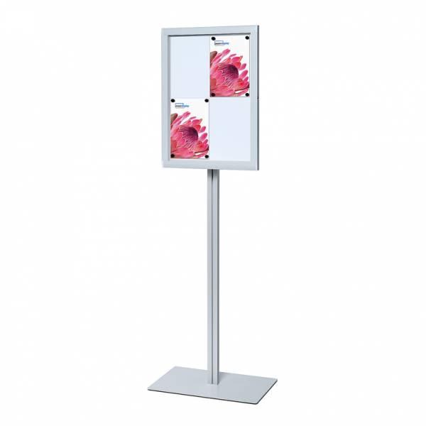 Freestanding Indoor Lockable Noticeboard