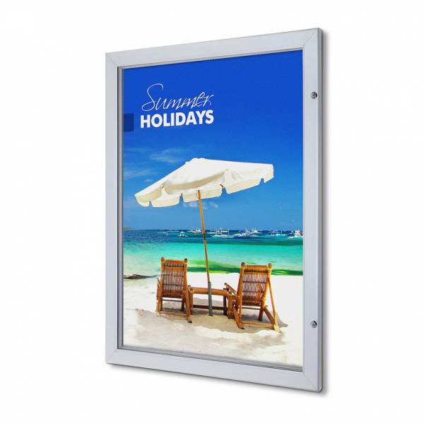 "30""x40"" Lockable Poster Case Premium"