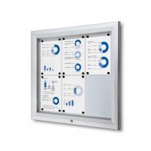 Outdoor Lockable Showcase 6x A4