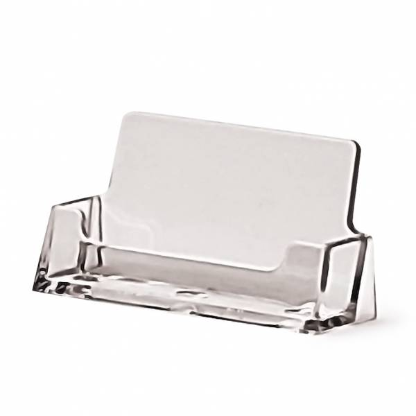 Business Card Holder Counter 1 Tier Landscape 17 mm Pocket depth