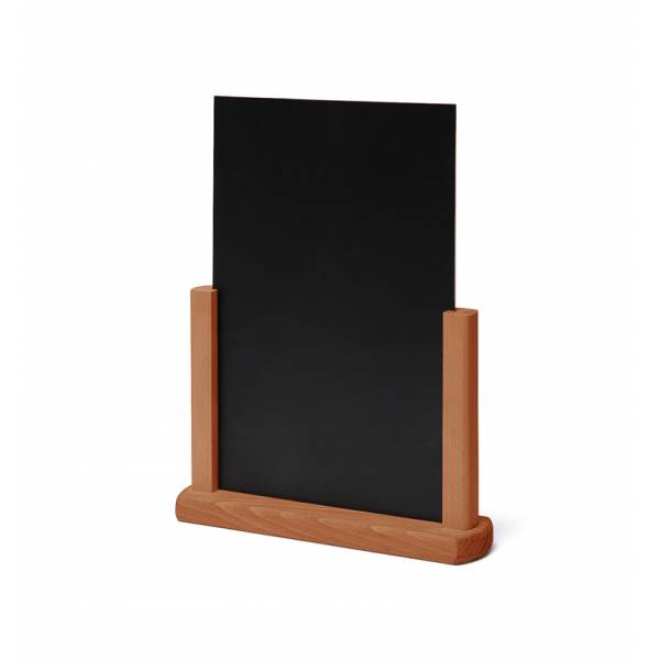 Natura Table Top Chalk Board Light Brown A4