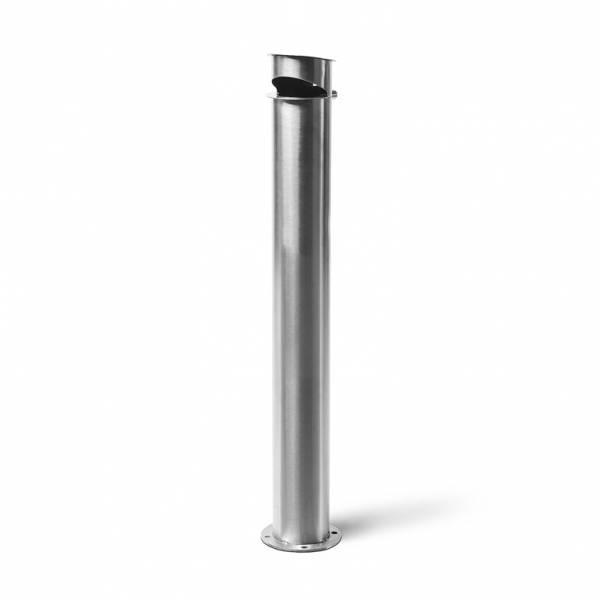 Cylindrical Ashtray Post Satin