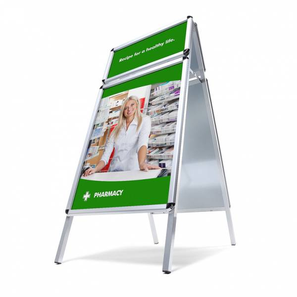A-Board With Logo Panel
