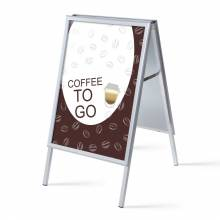 A-board A1 Complete Set Coffee To Go