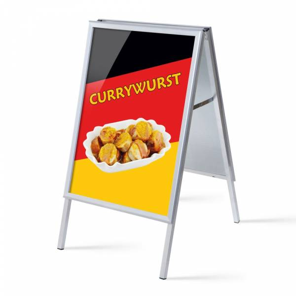 A-board A1 Complete Set Currywurst
