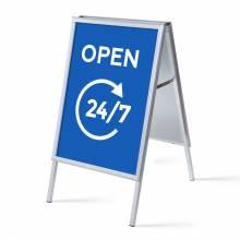 A-board A1 Complete Set Open 24/7