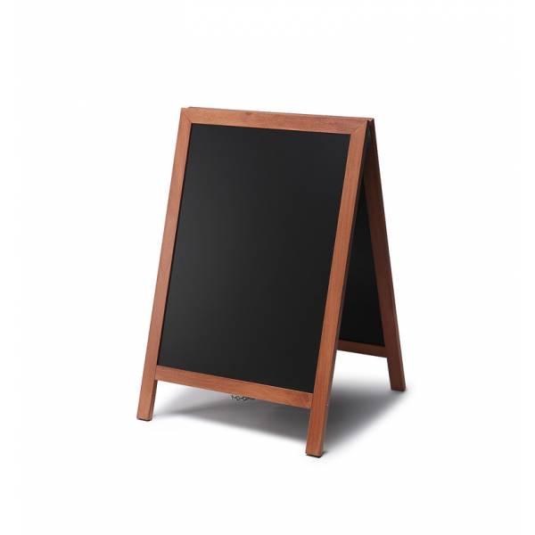 Natura Chalk A-Board Light Brown 55 x 85 cm