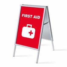 A-board A1 Complete Set First Aid