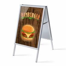 A-board A1 Complete Set Hamburger