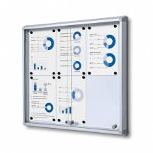 Indoor Lockable Showcase With Sliding Doors SCSL