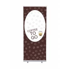Roll-Banner Budget 85 Complete Set Coffee To Go