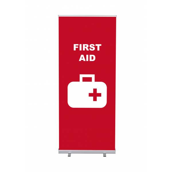 Roll-Banner Budget 85 Complete Set First Aid