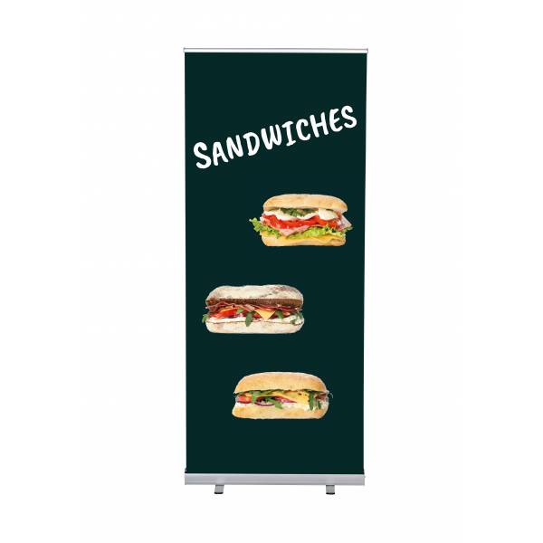 Roll-Banner Budget 85 Complete Set Sandwiches