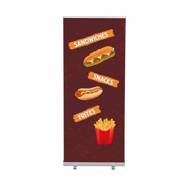 Roll-Banner Budget 85 Complete Set Snacks