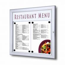 Outdoor Menu Case / LED